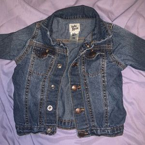 Jean jacket baby's